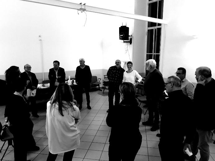 aperitivo comunicare per il distretto Opera Barolo