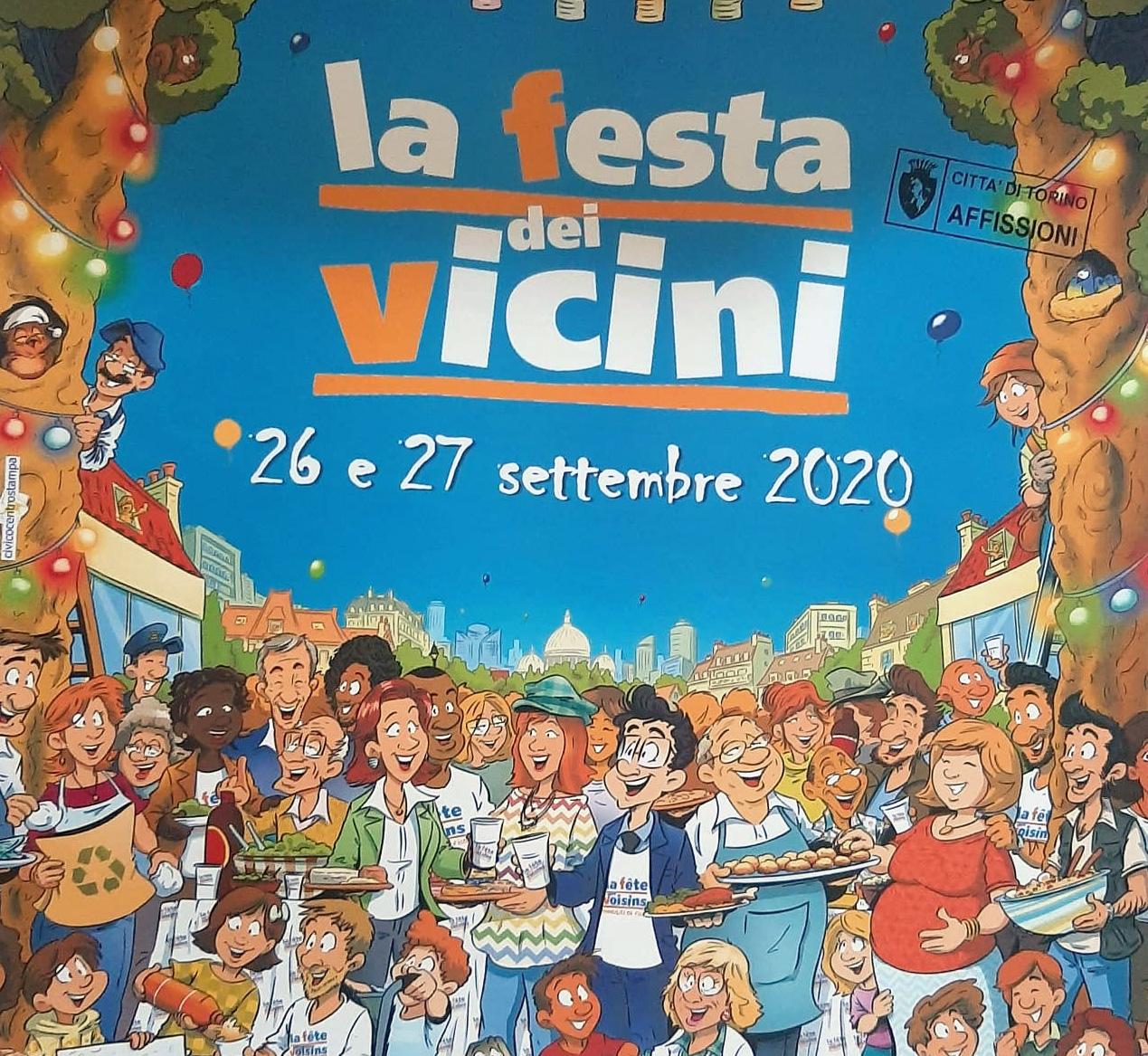 Festa dei Vicini 2020 - Piazza Livio Bianco